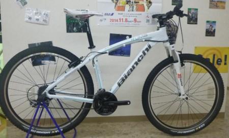 自転車の 自転車 千葉県 最大 : Bianchi KUMA27.4 | オフロード ...
